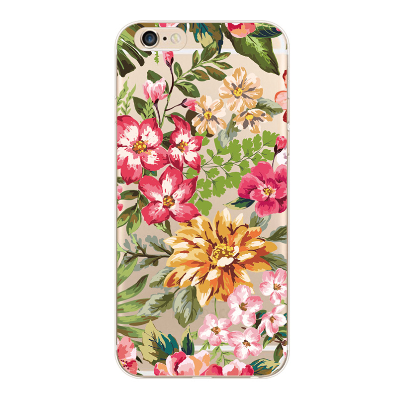 For iphone 6 7 8 x xr xsmax painted flat transparent soft silicone mobile phone case TPU protective cover