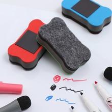 1 шт магнит ластик для A4 Гибкая для холодильника магнитные магнит для доски ластик для студентов пишущих инструментов школьные канцелярские принадлежности