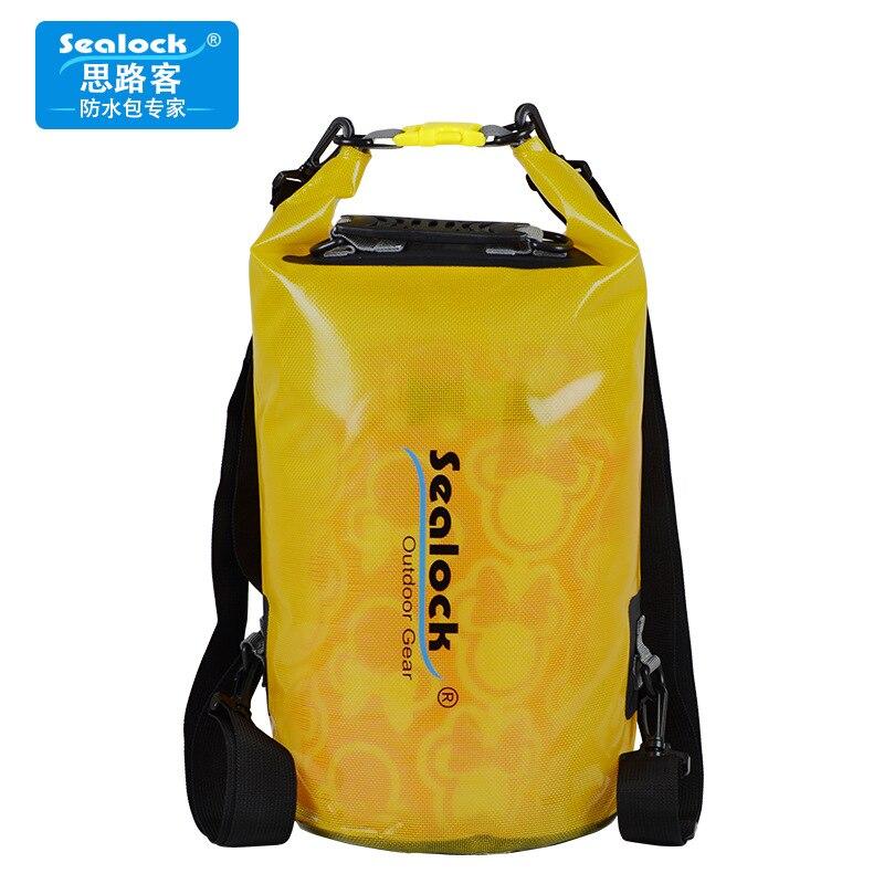 The Crystal Translucent Backpack Swimming Rafting Upstream Waterproof Bag Waterproof Bag A5237