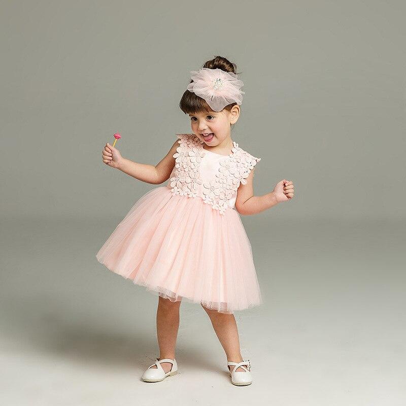 382c4865b4e8 babzapleume 3-24Months Summer Newborn Dresses Baby Girls Clothes 1st ...