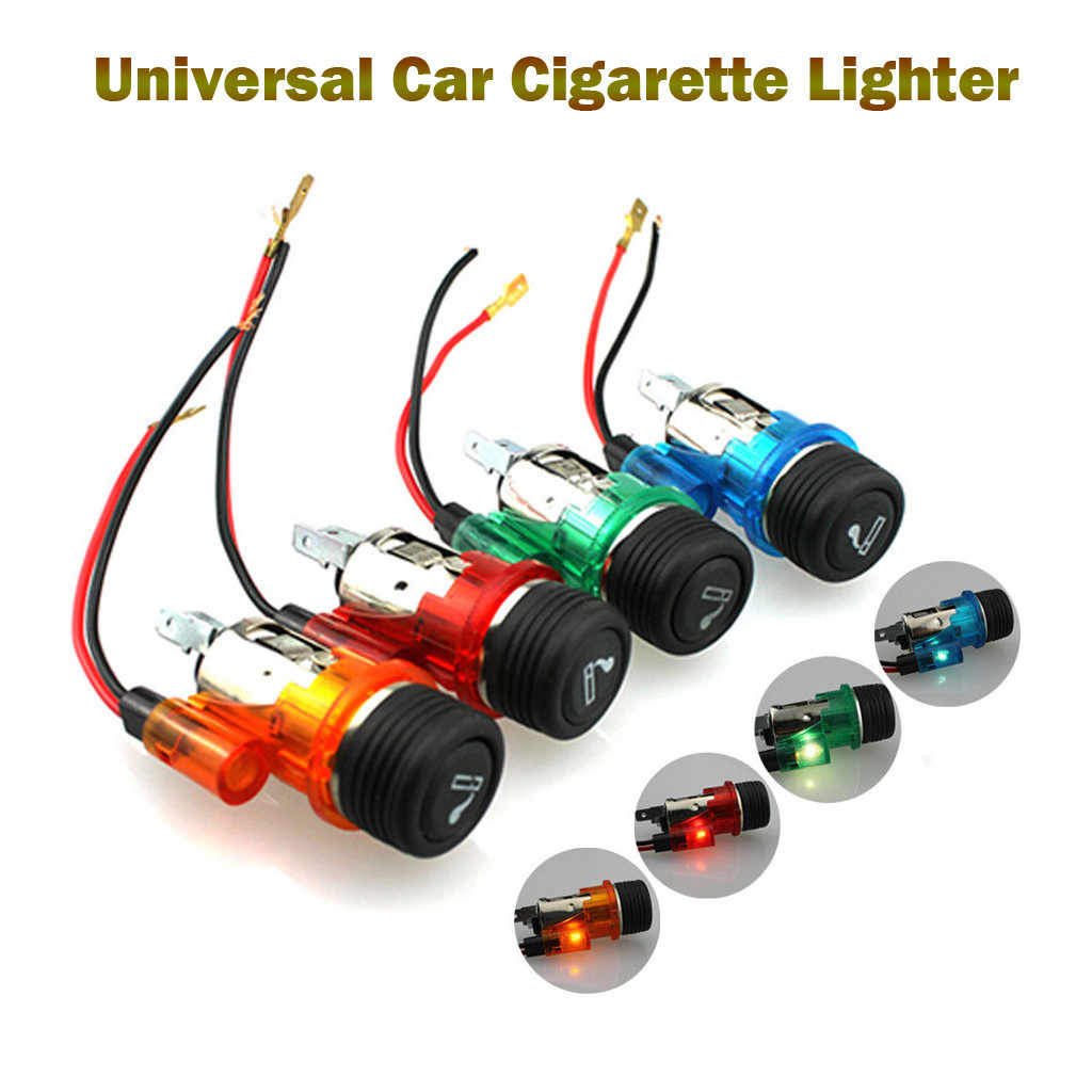 12V 120W Waterproof Universal Car Boat Motorcycle Cigarette Lighter Power Socket Plug Auto Accessories Cigarette Lighter