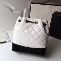 Модная сумка новое поступление Элитный бренд рюкзак для женские маленькие рюкзаки простой портативный складной Дизайнерская кожаная сумк