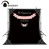 KATE DIY Wedding Photobooth Chalk Archway Background Amazing Chalkboard Custom Name Date Backdrop Photocall Excluding Bracket
