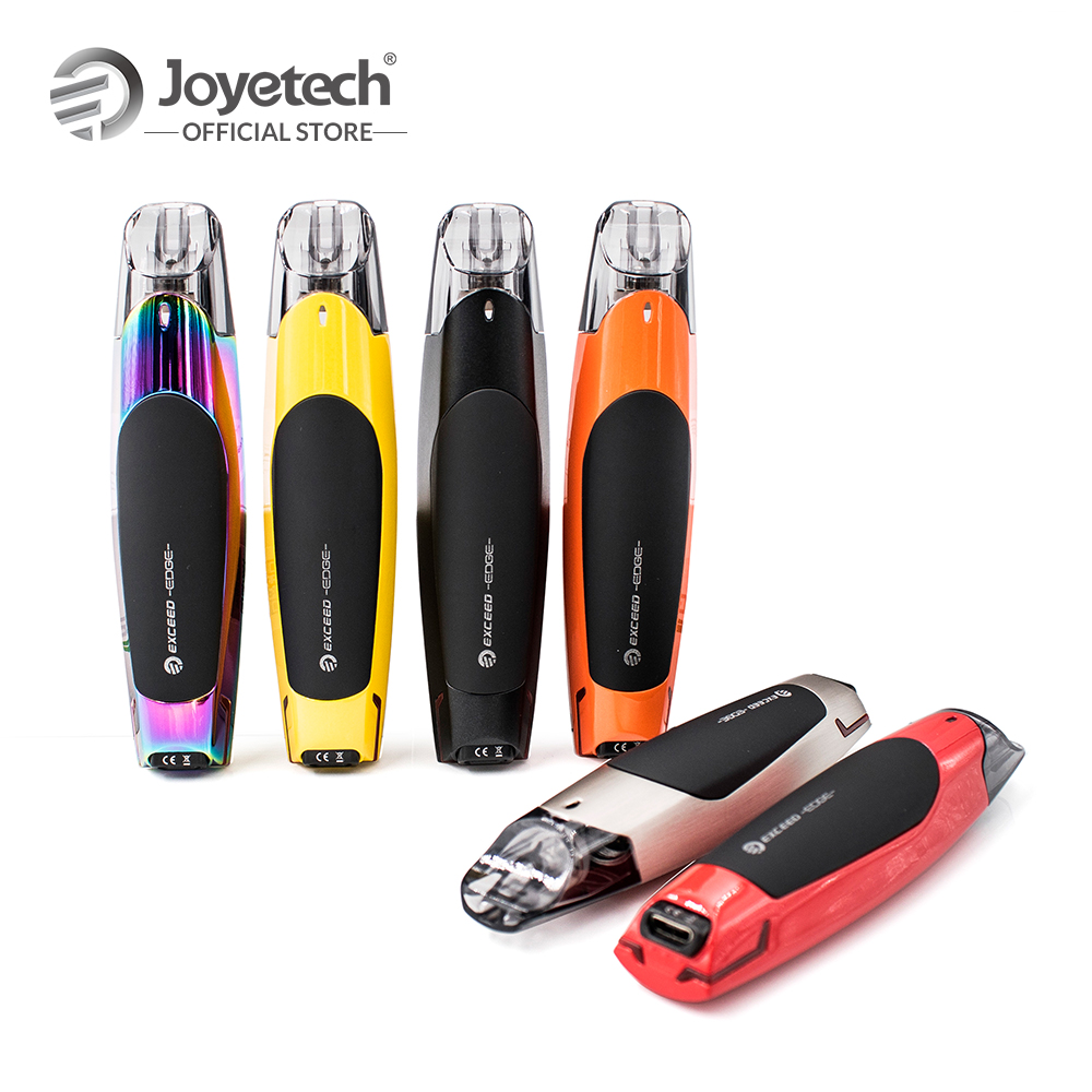 цена на Original Joyetech EXCEED Edge Kit Built-in 650mAh Battery 2ml Capacity Cartridge And 1.2ohm EX MTL Coil Electronic Cigarette