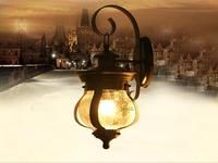 Outdoor Light American country garden outdoor patio lamp wall lamp waterproof characteristic wall lamps Wall Lamps FG231