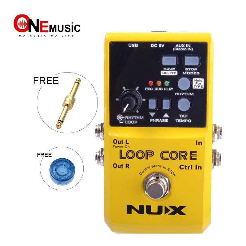 NUX Loop Core guitare effet pédale enregistrer et créer des Phases de musique et jouer en arrière comme des boucles