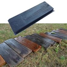 2 шт деревянная форма шаговый камень бетонная форма шаговый Камень Плесень Creats красивая сцена для вашего сада