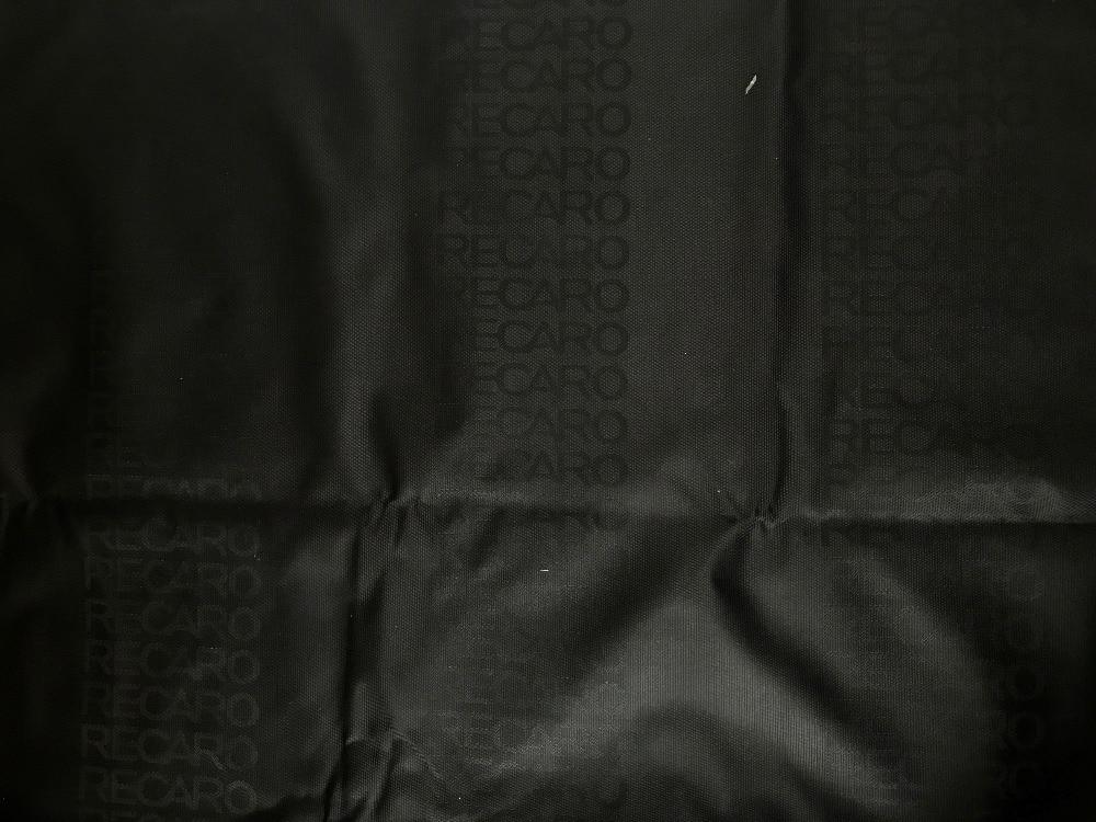 50cm Black Alcantara Suede Car Seat Fabric Cloth Cover For BRIDE RECARO SPARCO
