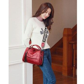Colored Strap Luxury Handbags  2