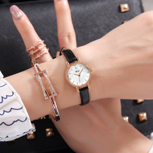 2017 New Small Dial Popular Ladies casual wristwatch Women Leather Quartz Watch female Simple dress clock diamond relojes mujer ulzzang fashion simple small dial dress women watch ladies girls young watch leather women wristwatch