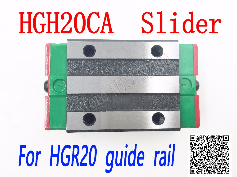 HGH20CA slider block HGH20 CA match use HGR20 linear guide for linear rail CNC diy parts hgh20ca slider block hgh20 ca match use hgr20 linear guide for linear rail cnc diy parts