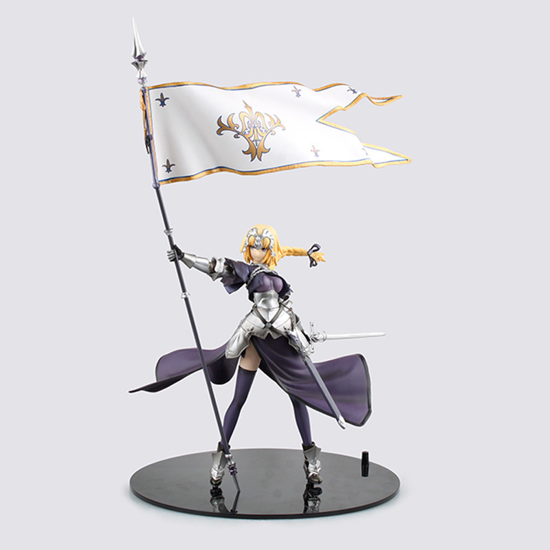 ZXZ Fate saber Apocrypha Fate/Grand Order Joan of Arc Jeanne d Arc Suzakey Cartoon Action Figure PVC Model Toy Doll 20 CM аниме футболки шляпы одежда a promise animation fate zero saber
