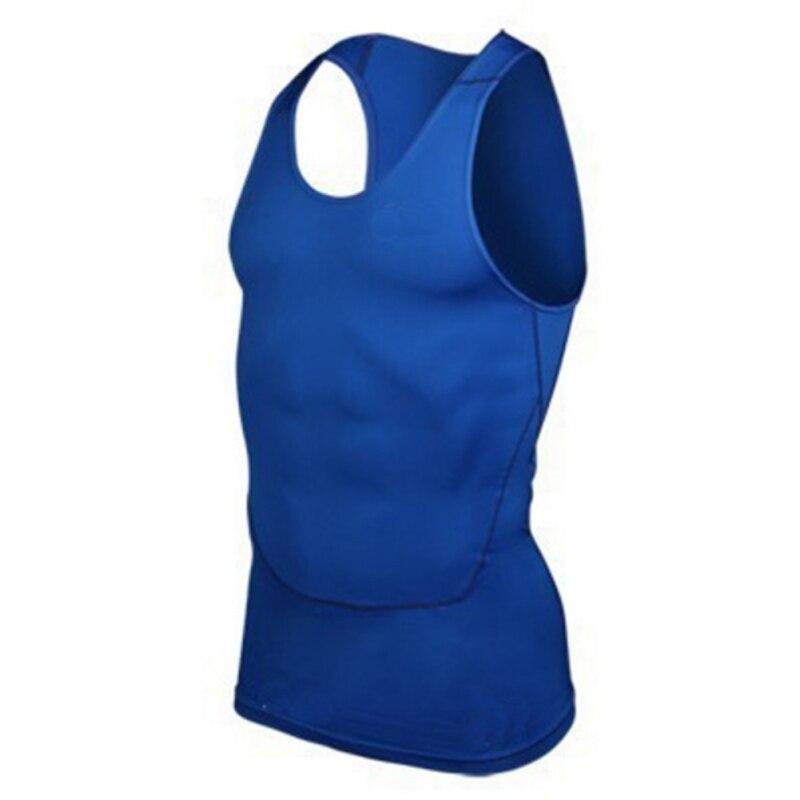 2018 New Men Quick Dry Sport T-shirt Solid Cool hydrophobic T-shirt Wicking Gym Run Sports Vest Summer Hiking Shirt