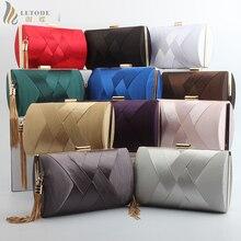 New fashion women bags luxury handbags designer clutch evening bag mini messenger Tassel high quality top