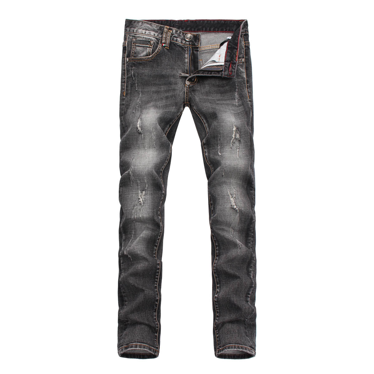 new winter Men's jeans embroidery with hole in Europe and the United States jeans micro play cultivate one's morality  ZK10063 summer men s jeans embroidery with hole in europe and the united states jeans micro play cultivate bull puncher knickers zk10082