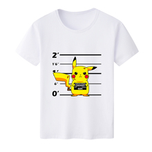 Free shipping New Arrive Summer Unisex Pocket Monster Pikachu  Squirtle White Milk Silk T-shirt Short-sleeved Shirt Top