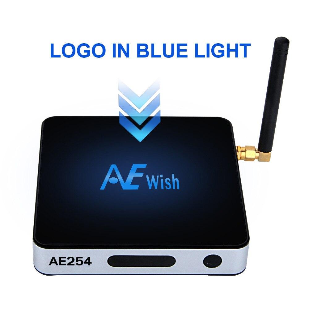 AE254 S912 Amlogic Cuadro de Tv Android 6.0 2G/16G 10/100 M/1000 M LAN Bluetooth