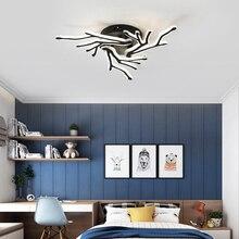 New design black Modern led Chandelier for living room Bedroom Restaurant chandelier lighting led lamp indoor home lighting fixtures