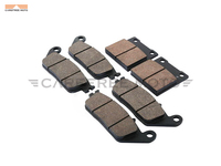 6 Pcs Semi Metallic Motorcycle Front Rear Disc Brake Pads Case For SUZUKI GSF 600 BANDIT