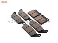 6 Pcs Semi Metallic Motorcycle Front Rear Disc Brake Pads Case For SUZUKI GSF 600 BANDIT