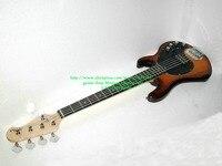 Sunburst 5 Strings Bass Guitars Music Bass Electric Bass Guitar With 9 V Battery Active