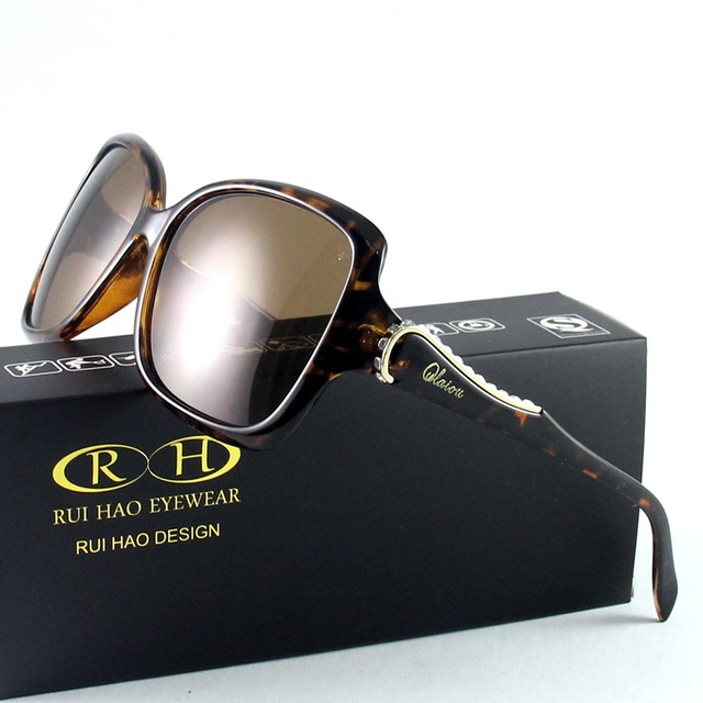 0d33a33b860b0 HAO RUI EYEWEAR 3 Cor Da Moda Polarizada Óculos De Sol Das Mulheres Óculos  Óculos de