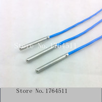 [BELLA] Imported high precision temperature sensor PT100 PT100 temperature probe with a shielded 3 * 30mm 3pcs/lot