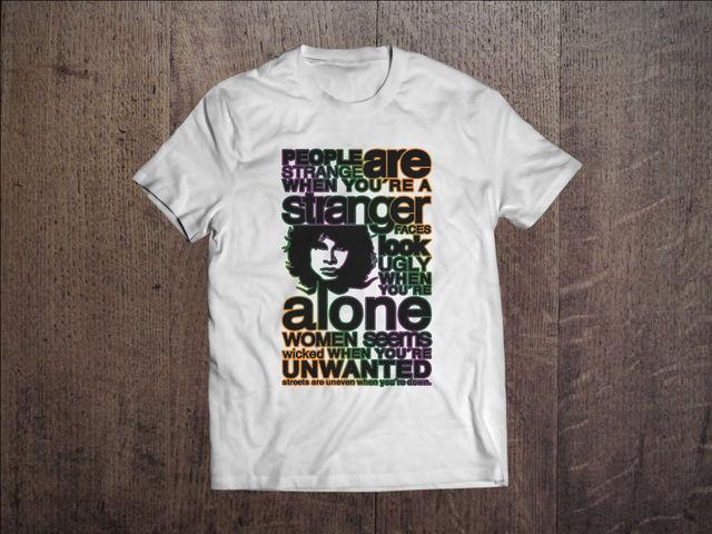 The Doors Graphic Men White T-shirt Rock Band Fan Tee Shirt Size S- & The Doors Graphic Men White T shirt Rock Band Fan Tee Shirt Size S ...