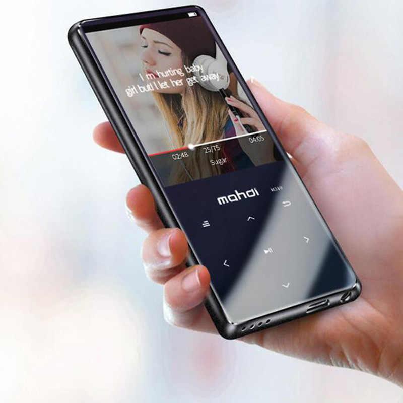 Mahdi M310 16G Bluetooth Mp3 odtwarzacz bezstratnej Hifi Mini 2.4 Cal ekran odtwarzacz muzyczny z słuchawki