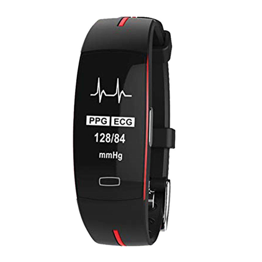 Hold Mi <font><b>P3</b></font> <font><b>Smart</b></font> <font><b>Band</b></font> Support ECG+PPG Blood Pressure Heart Rate Monitoring IP67 Waterpoof Pedometer Sports Fitness Bracelet.Bl image