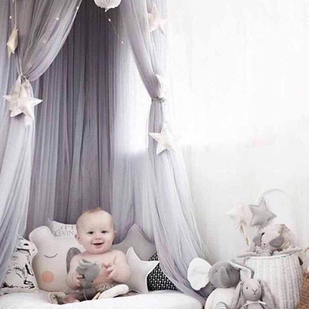 Temperamentvoll Baby Moskito Net Fotografie Requisiten Baby Zimmer Dekoration Home Bett Baldachin Vorhang Runde Krippe Netting Baby Zelt Infant Geschenk Um Jeden Preis Krippe-netting