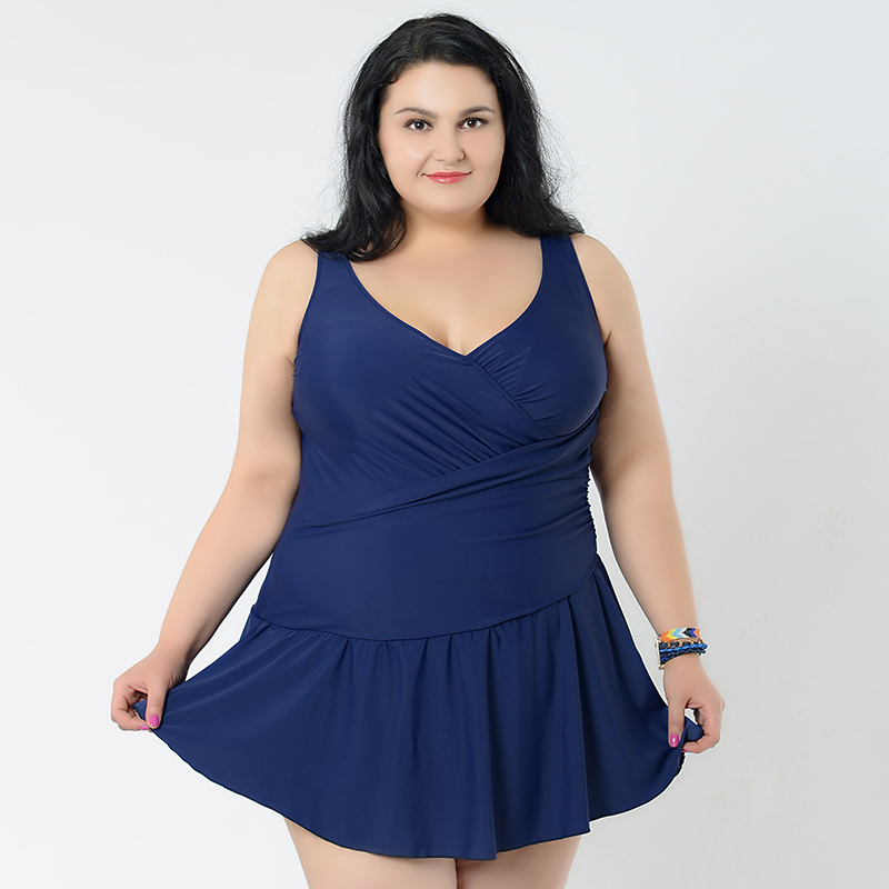 2017 plus size high waist swimwear skirt women solid colors sexy hot bathing suit blue/gree/black hot push up swimsuit dkny new deep solid black career women s size 10 straight pencil skirt $215