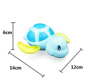 Image 5 - เดี่ยวน่ารักน่ารักการ์ตูนสัตว์เต่าคลาสสิกเด็กน้ำของเล่นเด็กทารกSwim Turtle Wound Up Chain Clockworkเด็กชายหาดของเล่น