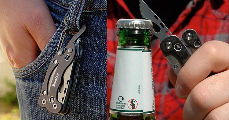 EDC gear camping equipment outdoor Clip pliers multi-purpose mini tool tool keychain 9E006 survival kit supervivencia RL21-0012-8