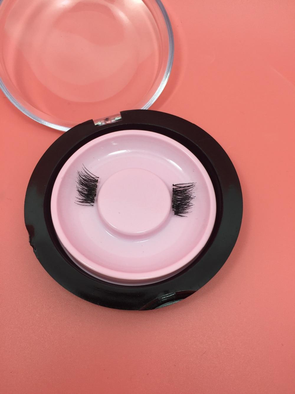 5pairs Magnetic eyelash extensions magnet False Fake Eyelashes extensions 4pcs/pair Handmade  soft and Comfortable цена 2016