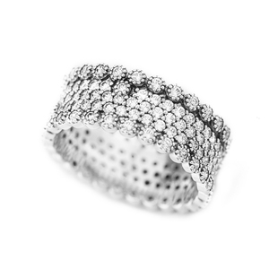 Image 3 - Authentic 925 Sterling Silver Rings for Women Clear CZ Lavish Engagement Wedding Ring Fashion Jewelry Accessories