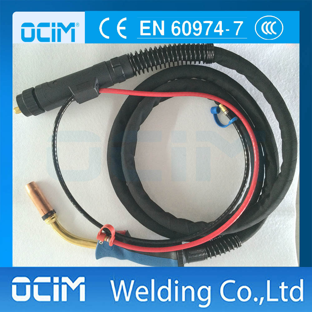 CO2 MIG MAG Welding Torch MB 501D 3m Cable 500A