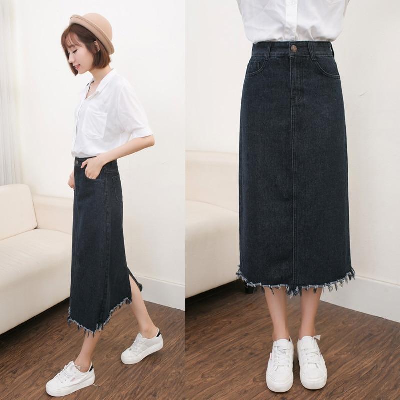 Online Get Cheap Full Denim Skirt -Aliexpress.com | Alibaba Group