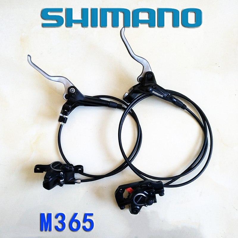 цена на Shimano MTB Bike BR-BL-M315 m365 Hydraulic Disc Brake Set Front and Rear Black