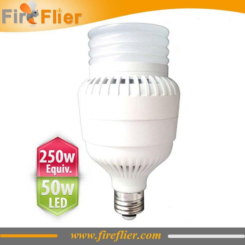 50 W Led haute baie ampoule E39 E40 E27 250 w halogénure métallique ou haute pression lampe de remplacement pour entrepôt ou usine