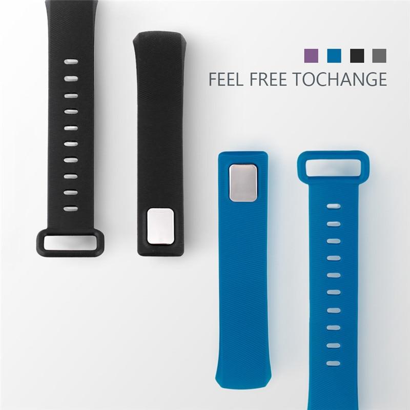 R5 MAX PRO wrist strap black blue purple gray replacement Silicone Strap for smart fitness bracelet pk Tezer blue oltre r5 jtr5860