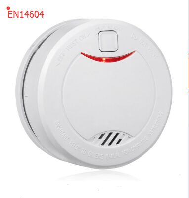 DC 3V lithium battery operated Independent 10 years optical smoke font b alarm b font with
