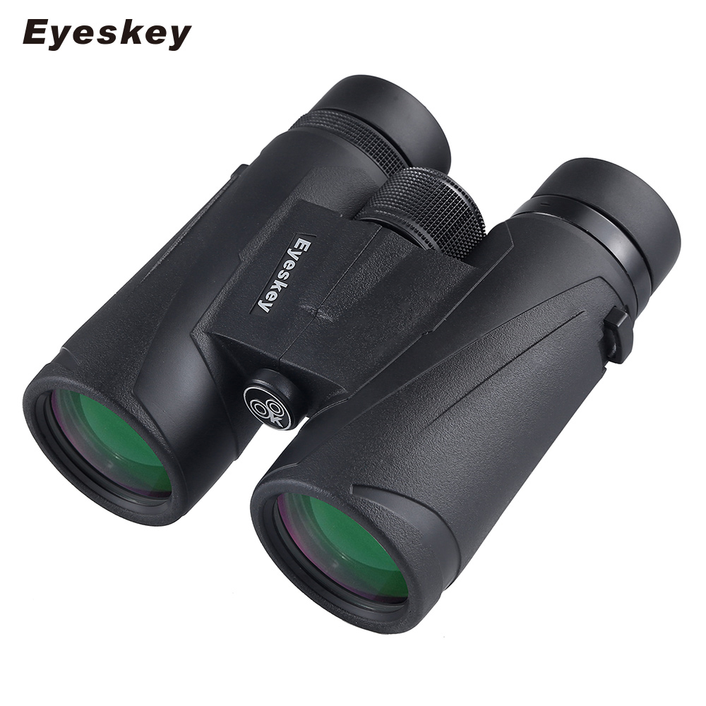 Eyeskey Powerful Binoculars 10x42 Professional HD Telescope Waterproof Lll Night Vision Binocular telescope for Camping Hunting eyeskey 10x42 portable binoculars camping hunting telescope waterproof night vision tourism optical outdoor sports