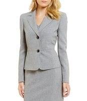 Индивидуальный заказ серый 2 кнопки v образным вырезом женское платье костюмы для торжественных случаев Для женщин Блейзер Костюмы офисные