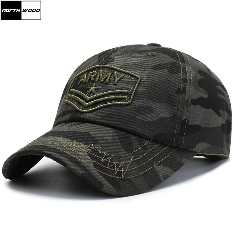[NORTHWOOD] New Army Hat For Men Women Camouflage   Baseball     Caps   Bone Gorras Casquette Tactical   Cap   Camo Outdoor Summer   Cap