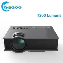 Proyector Multimedia 1200 Lúmenes UC46 WiFi Inalámbrico Portátil LCD LED Cine En Casa Soporte Proyector 1080 P Con IR/USB//HDMI/VGA