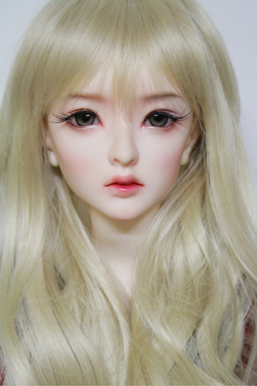5d6ad845781 Flash sale ! free shipping free makeup and eyes! top quality 1 3 bjd Haeun  sexy female girl doll sd dod manikin best gift toy