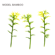 ARCHITECTURAL MODEL MAKING Miniature scale model bamboo 6cm green for trains layout