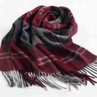 high grade 100%goat cashmere men fashion patchwork striped scarfs 32x180cm wholesale retail