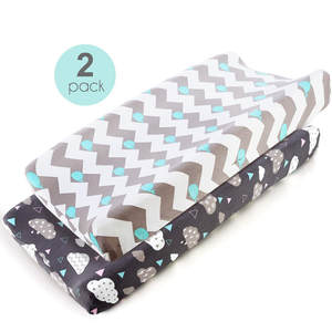 Cover Baby Changing-Pad 2PC Mattress Diaper Travel-Pad Print Portable Nursing Cartoon